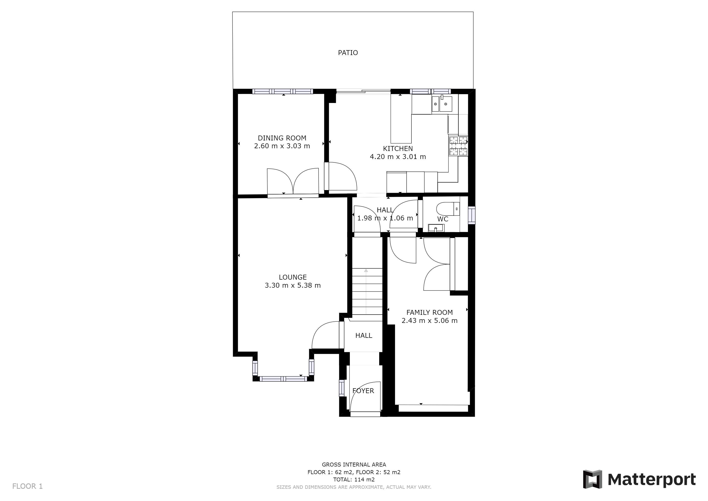 Floorplan Ground Floor