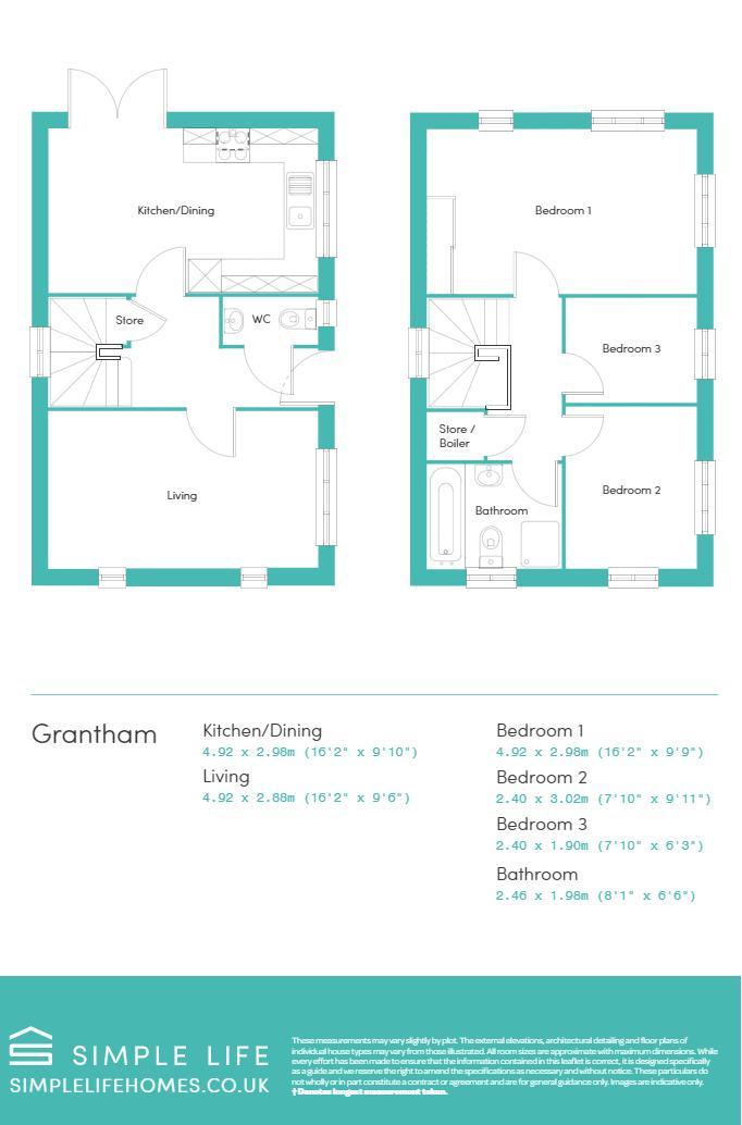 GRANTHAM - FLOORPLAN