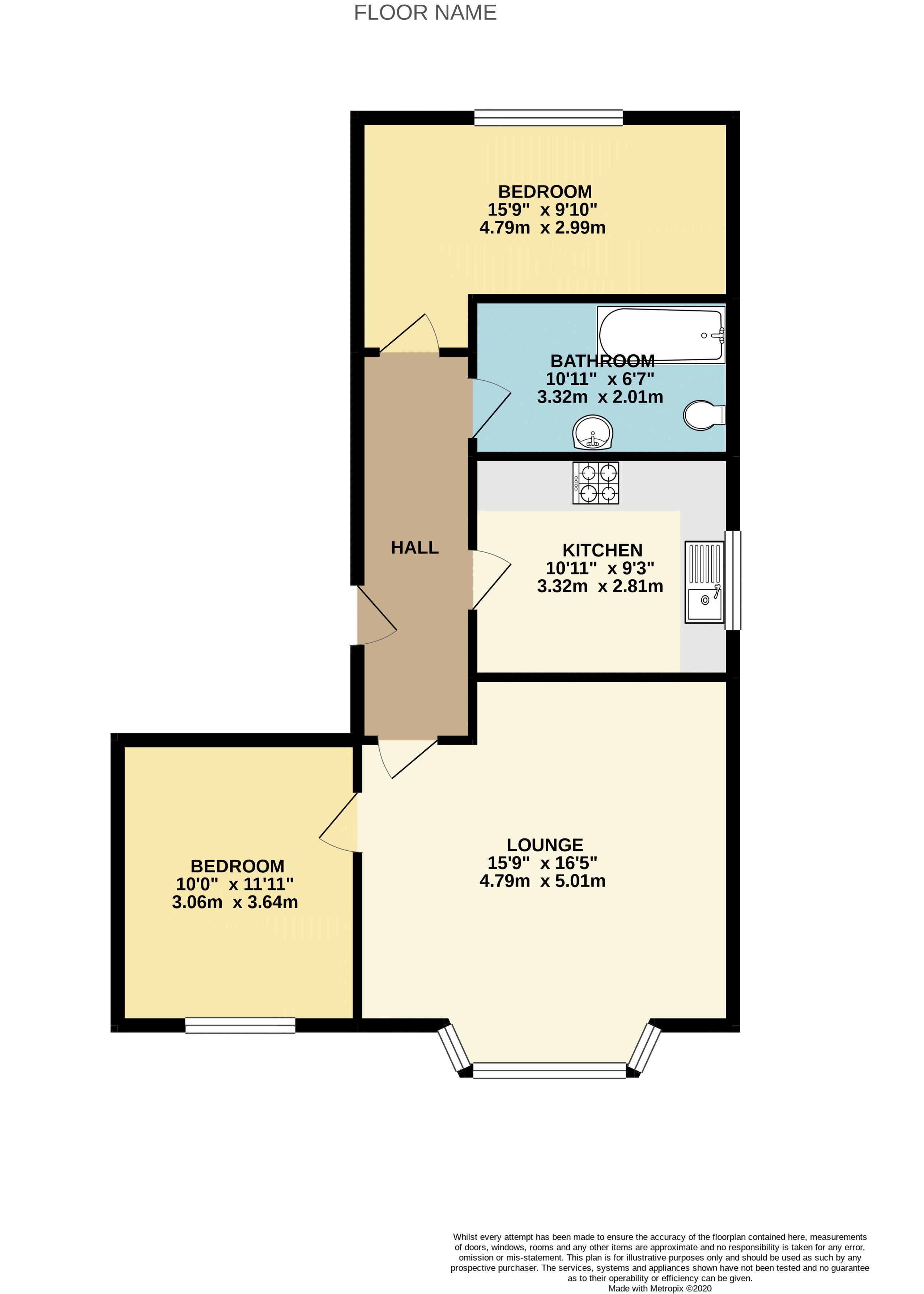 Linnet Lane Floor Plan