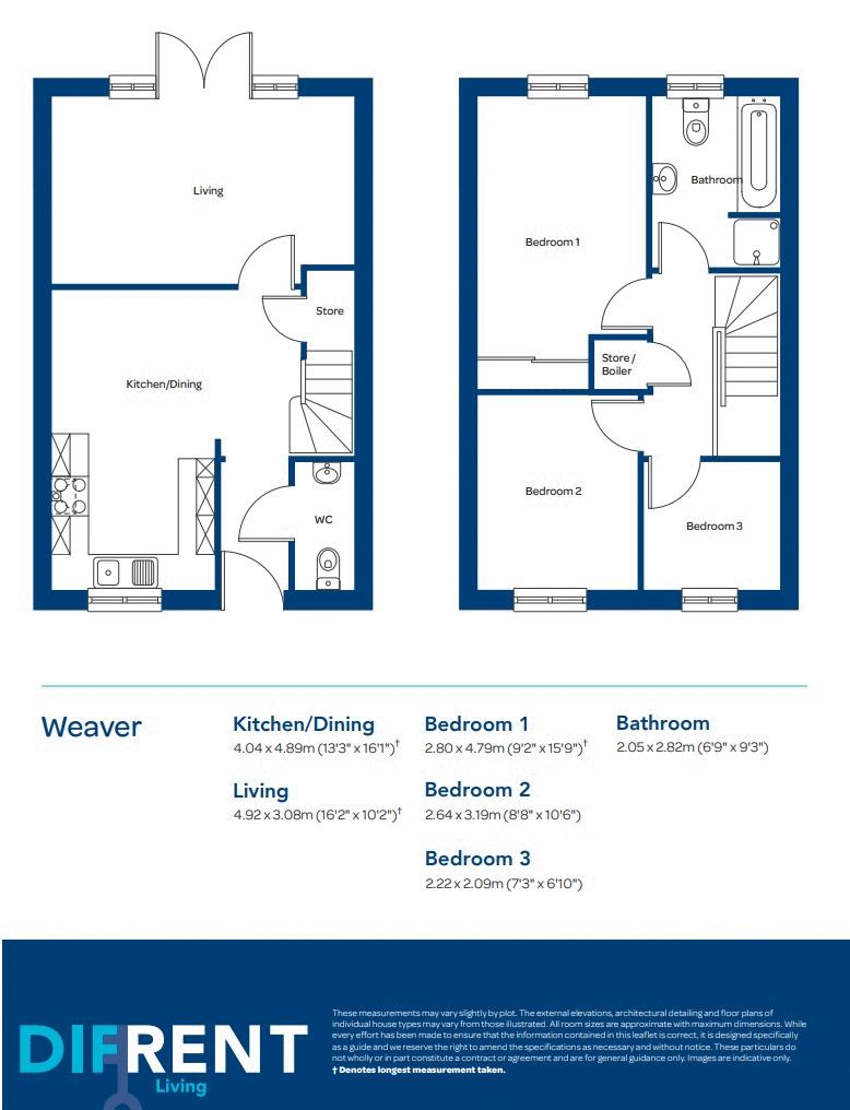 WEAVER FLOOR PLAN
