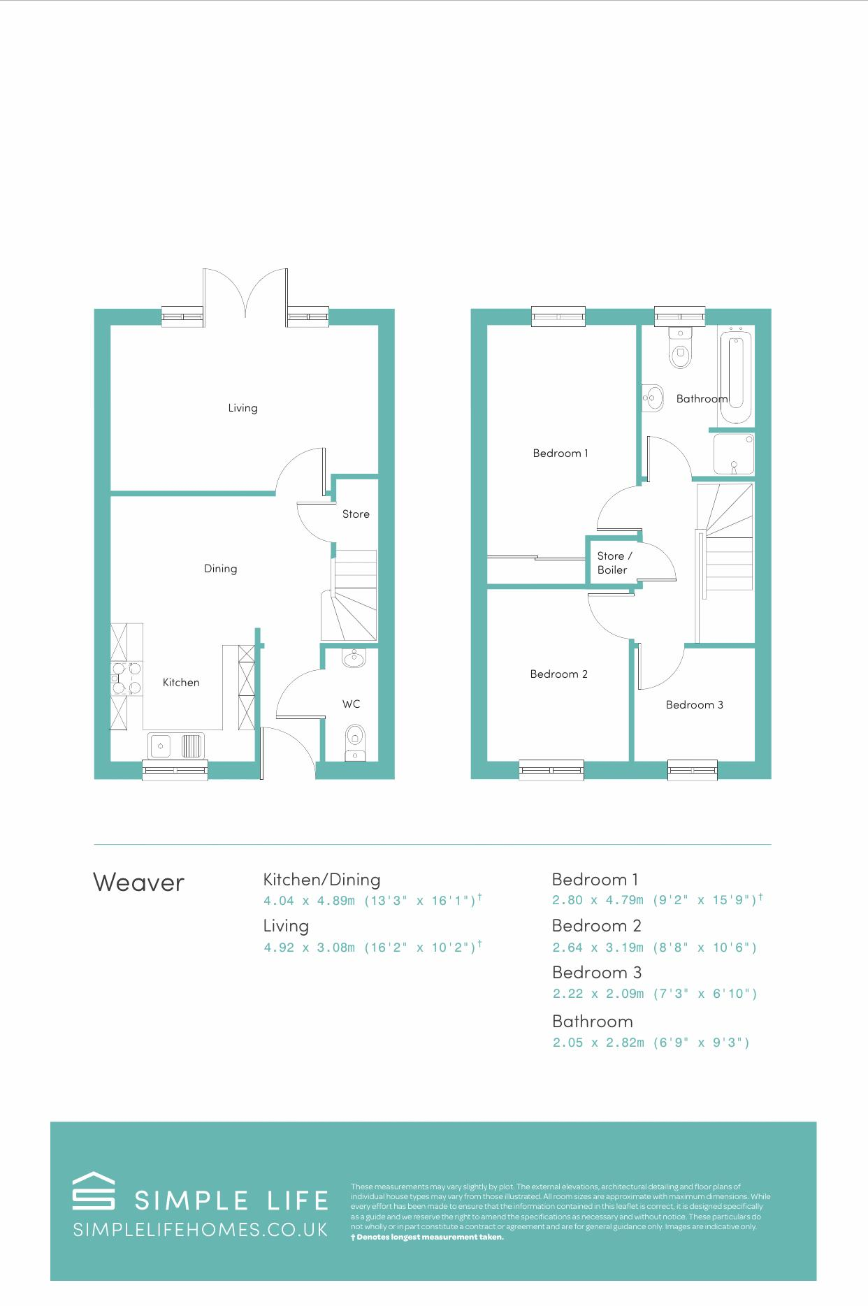 Weaver Floorplan
