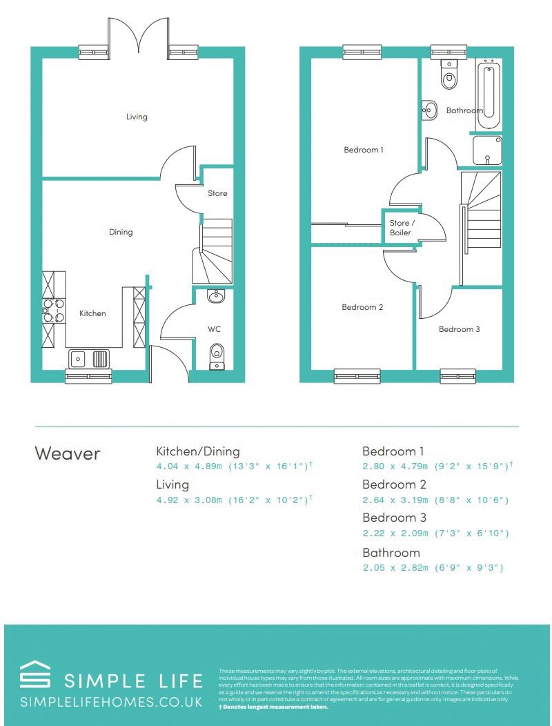 WEAVER FLOORPLAN