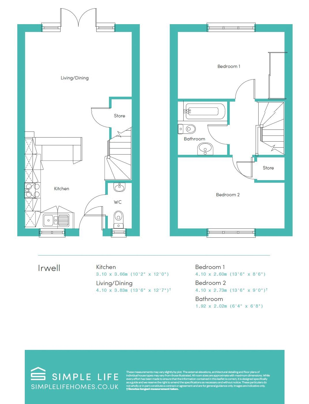 IRWELL FLOORPLAN