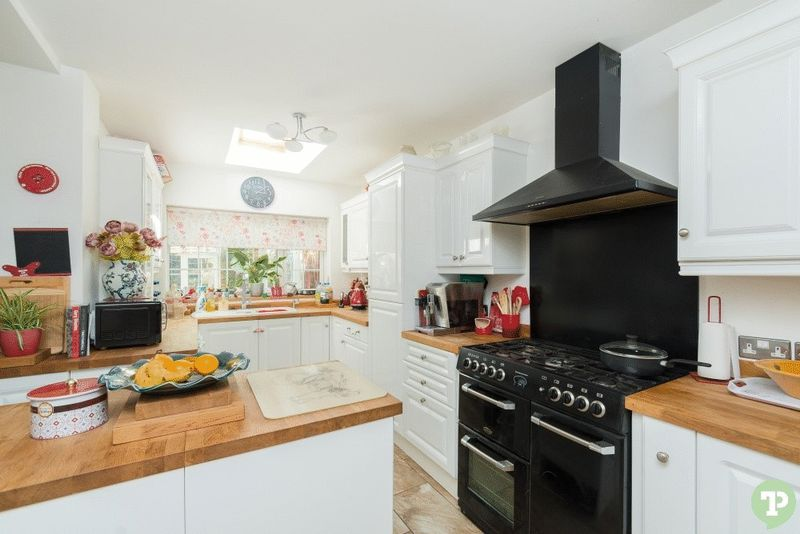 Modernised kitchen