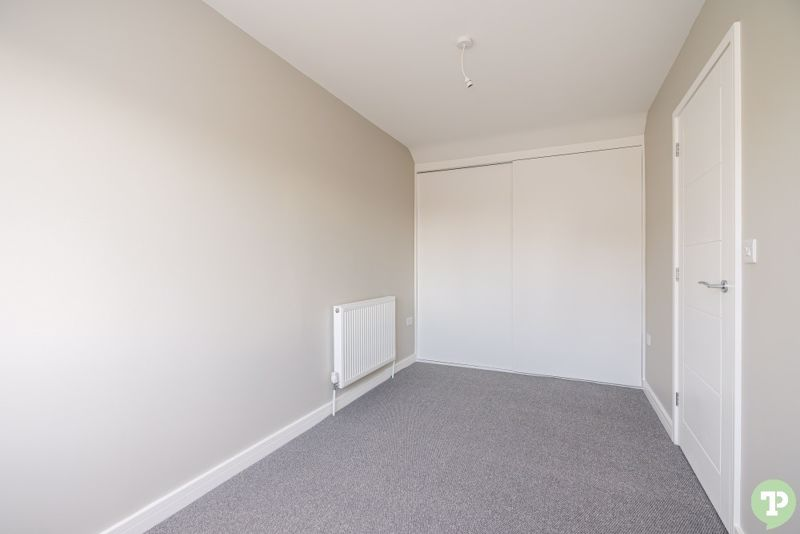 Double Bedroom With Full Width Built-In Wardrobes