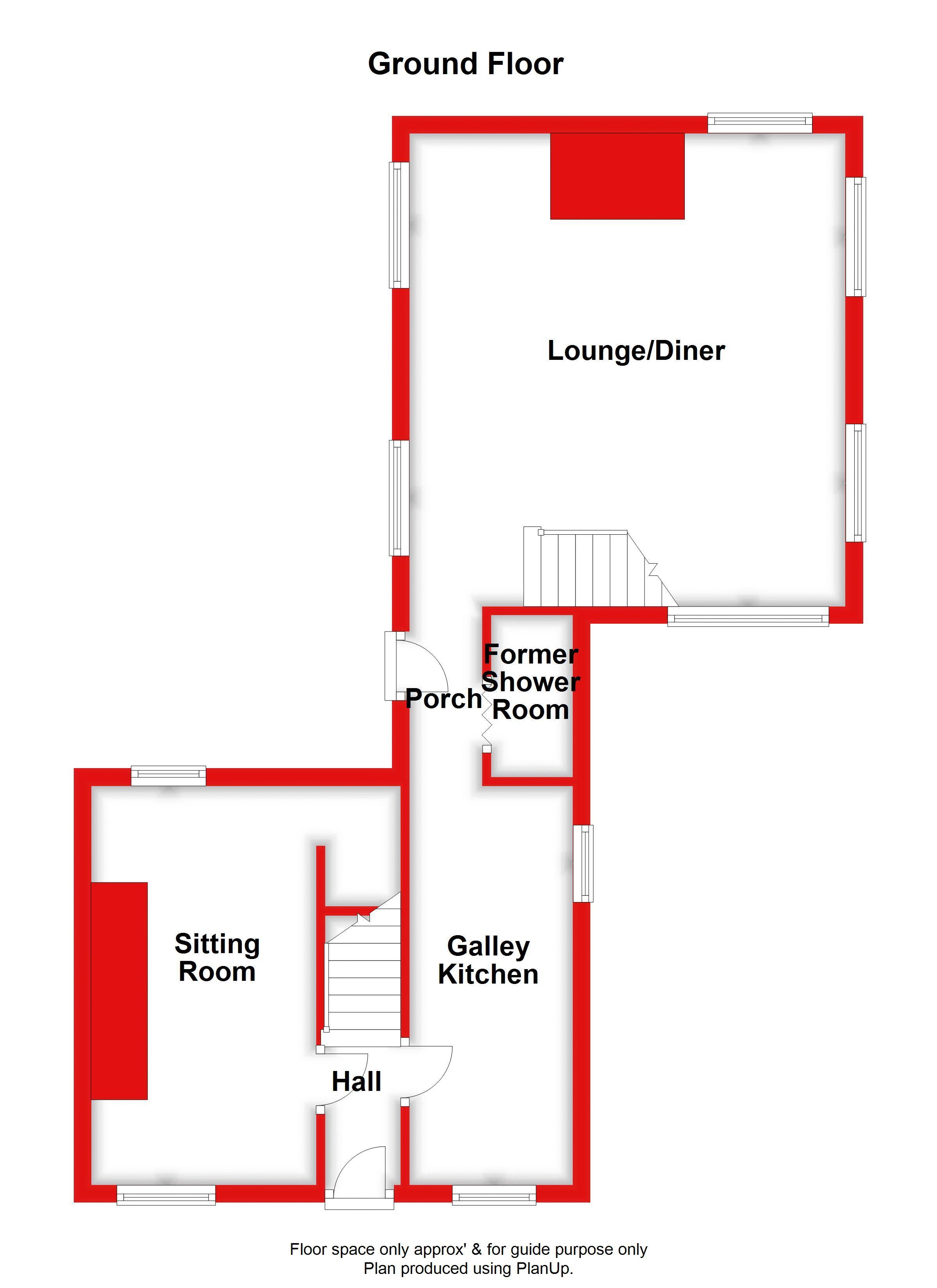 GROUND FLOOR (MAIN HOUSE)
