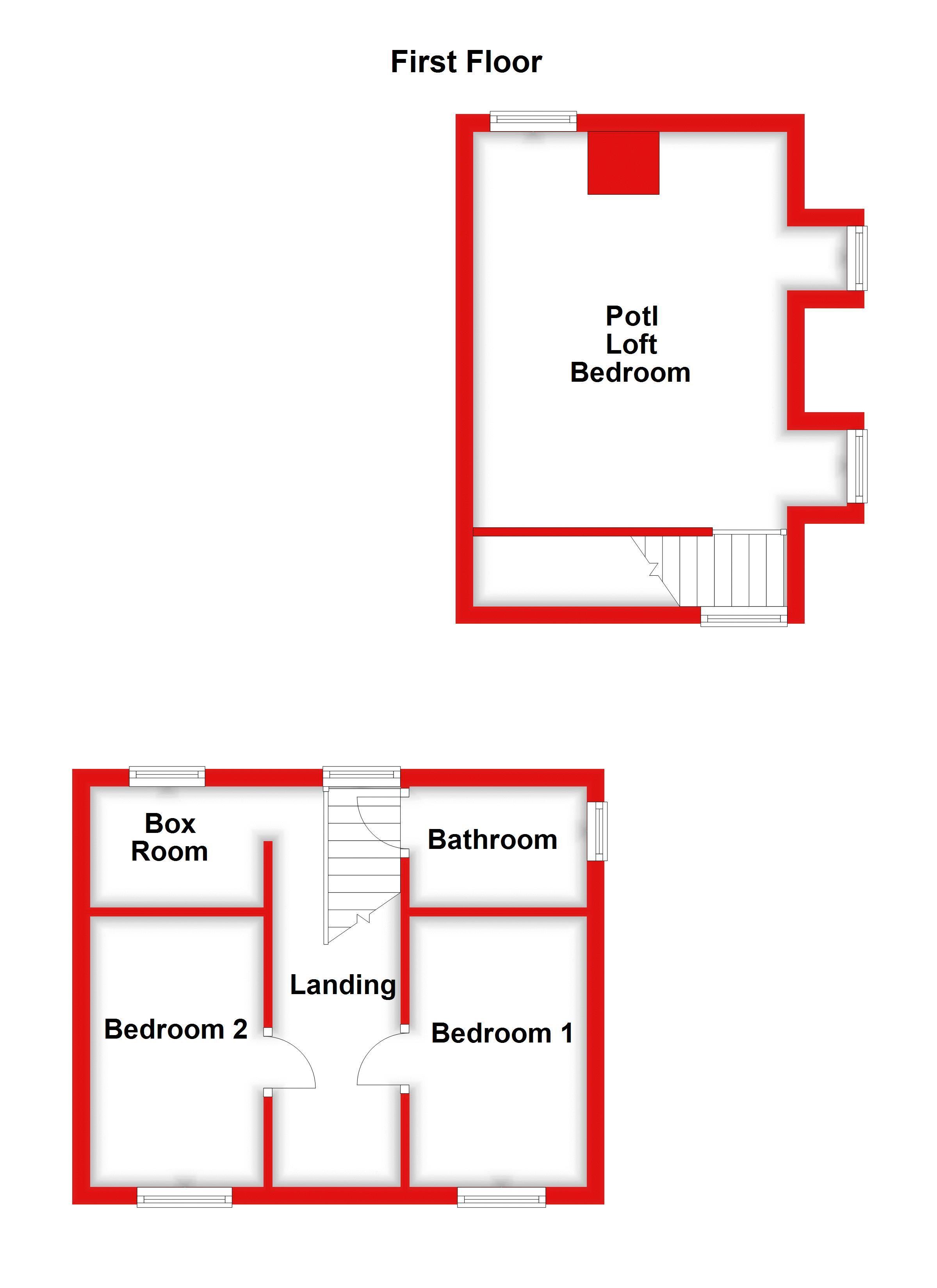 1ST FLOOR (MAIN HOUSE)
