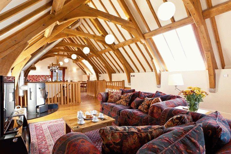 Oak Barn Living space