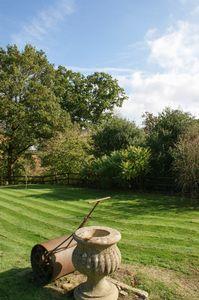 Garden roller feature
