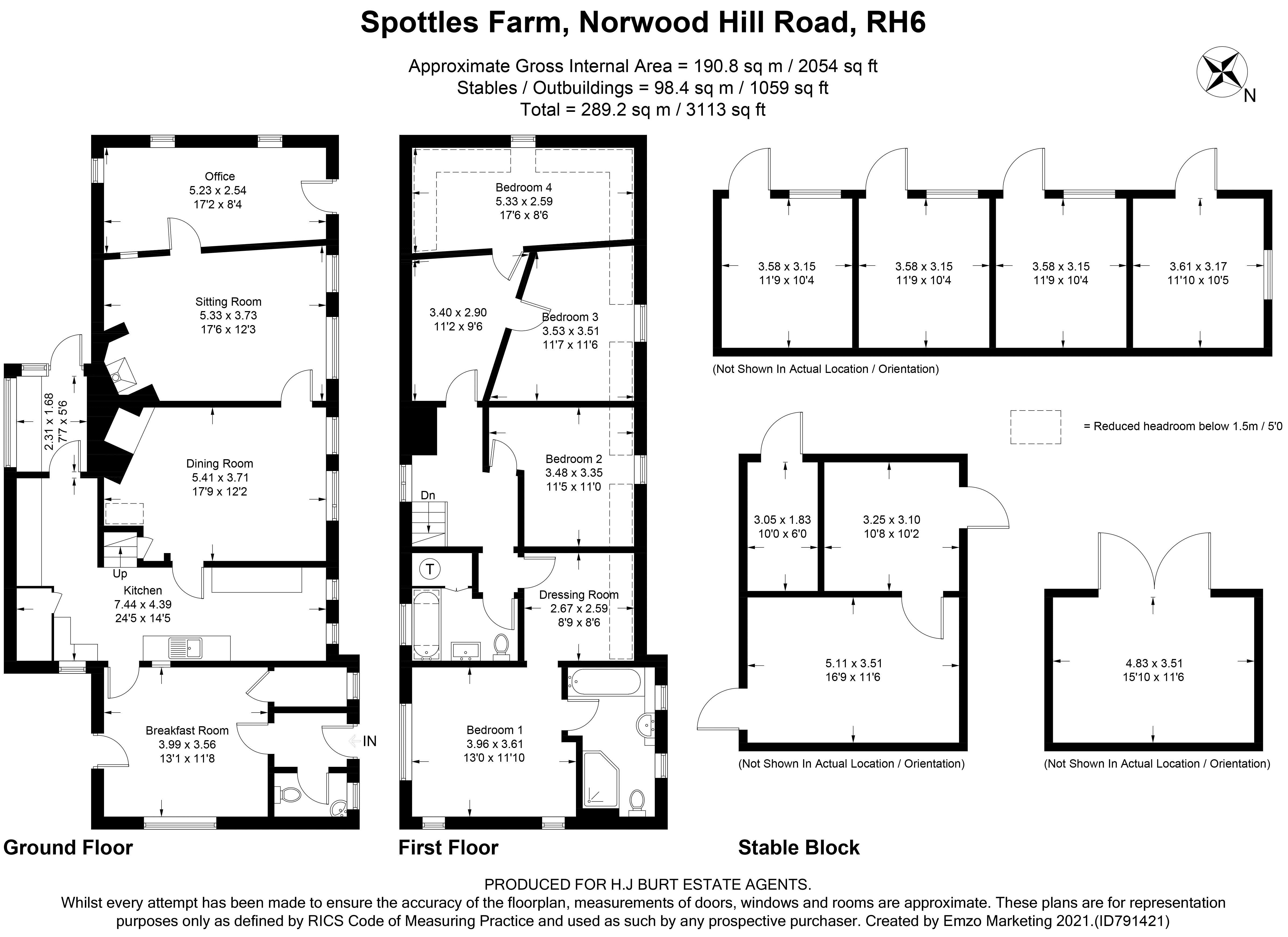 Norwood Hill Road
