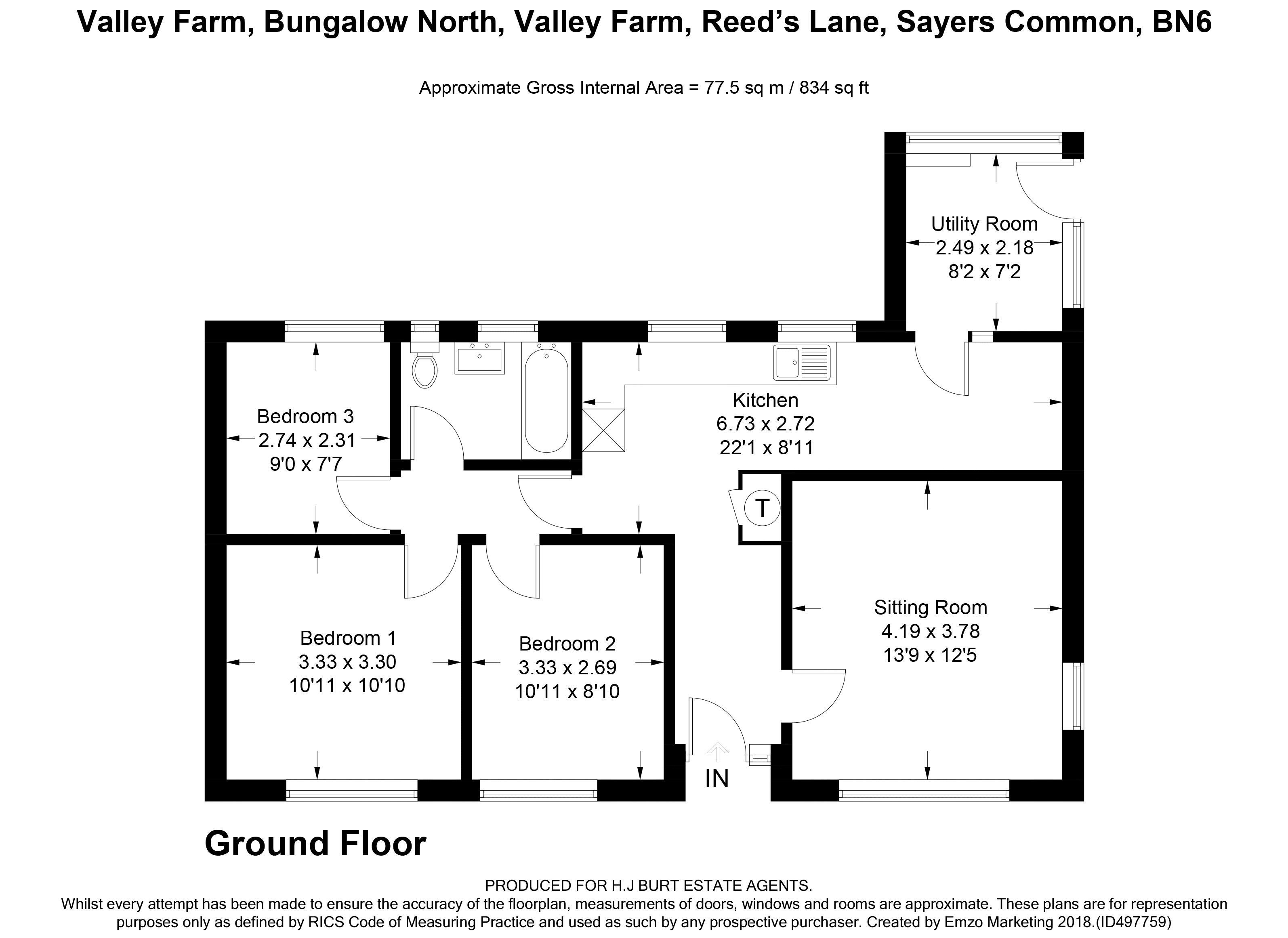 Valley Farm & Business Park, Reeds Lane Sayers Common