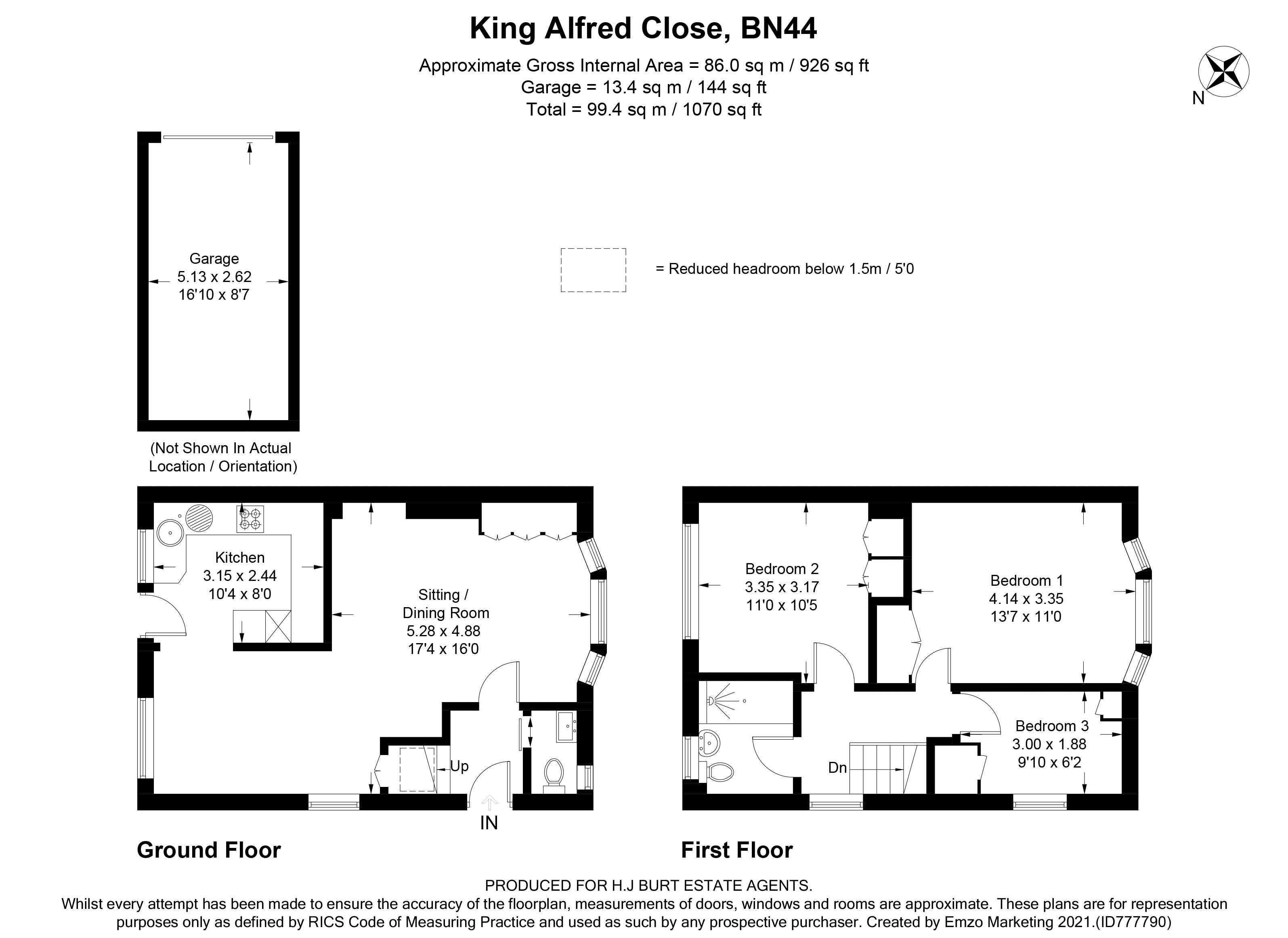 King Alfred Close