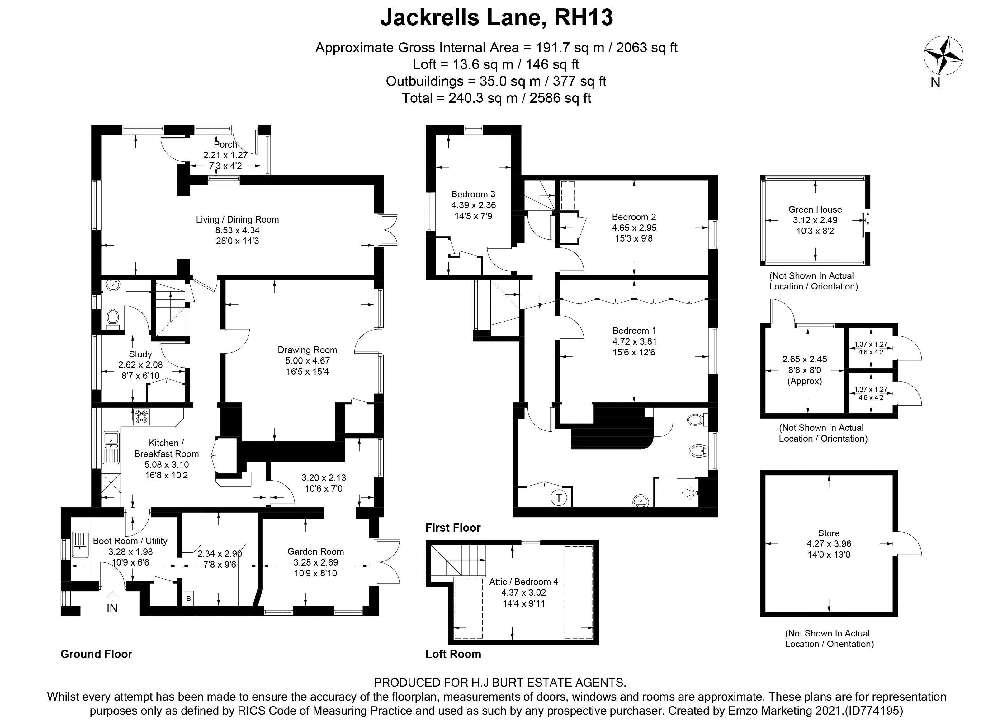 Jackrells Lane
