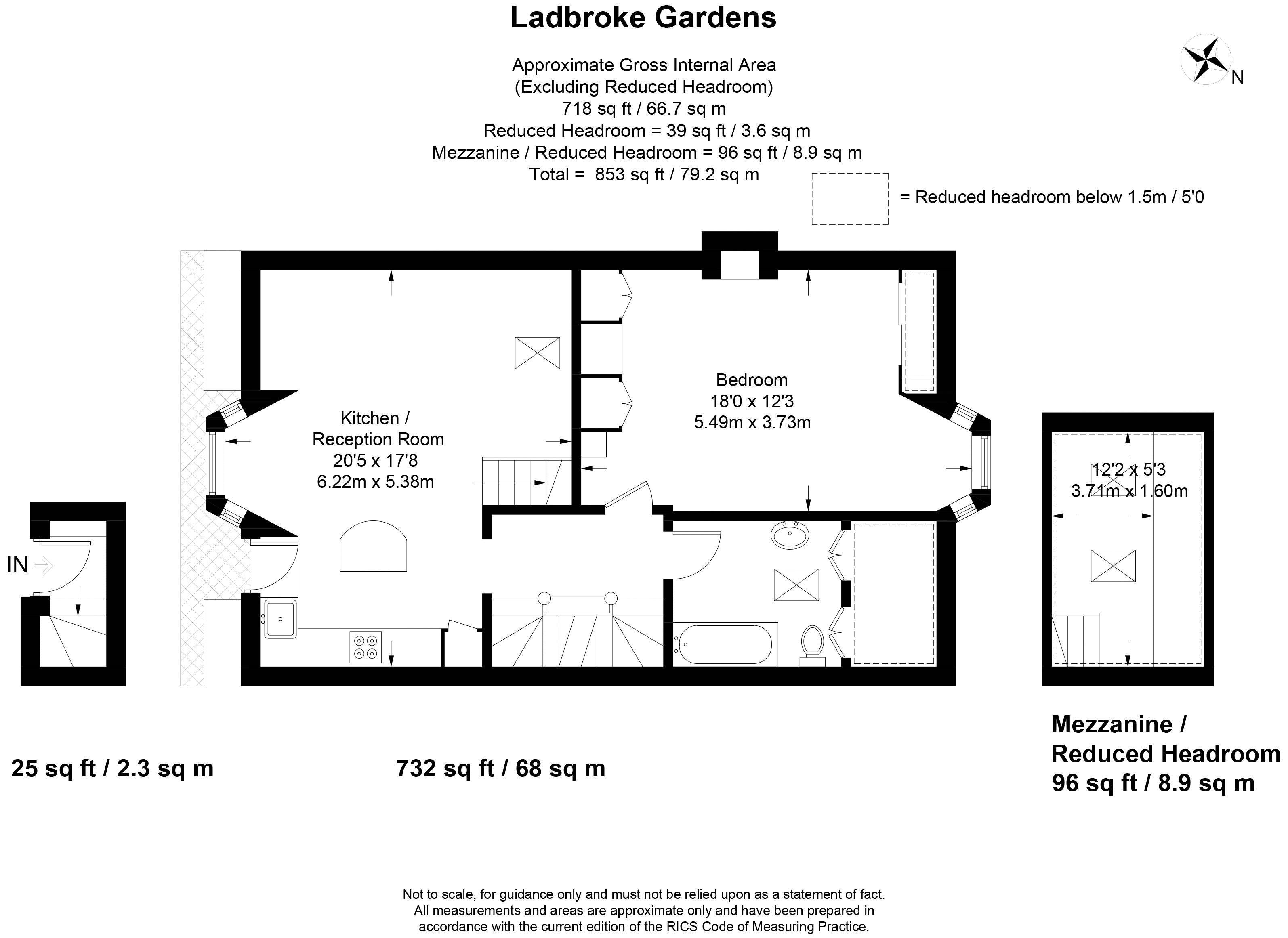 5, 4 Ladbroke Gardens
