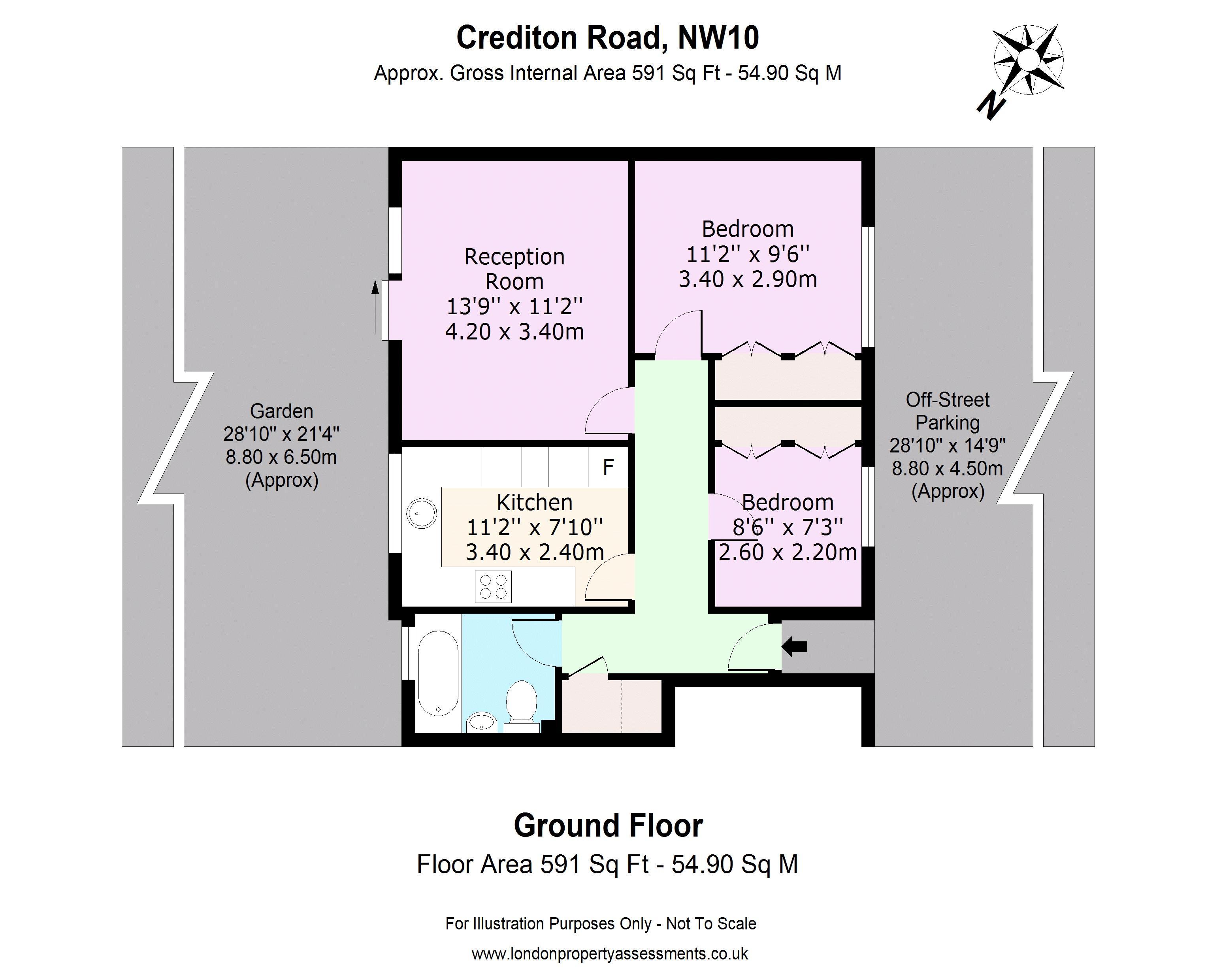 53 Crediton Road