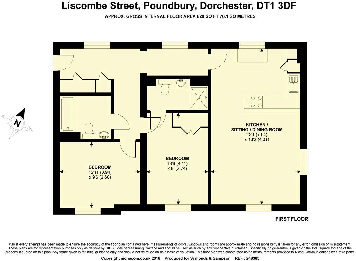 1 Liscombe Street Poundbury
