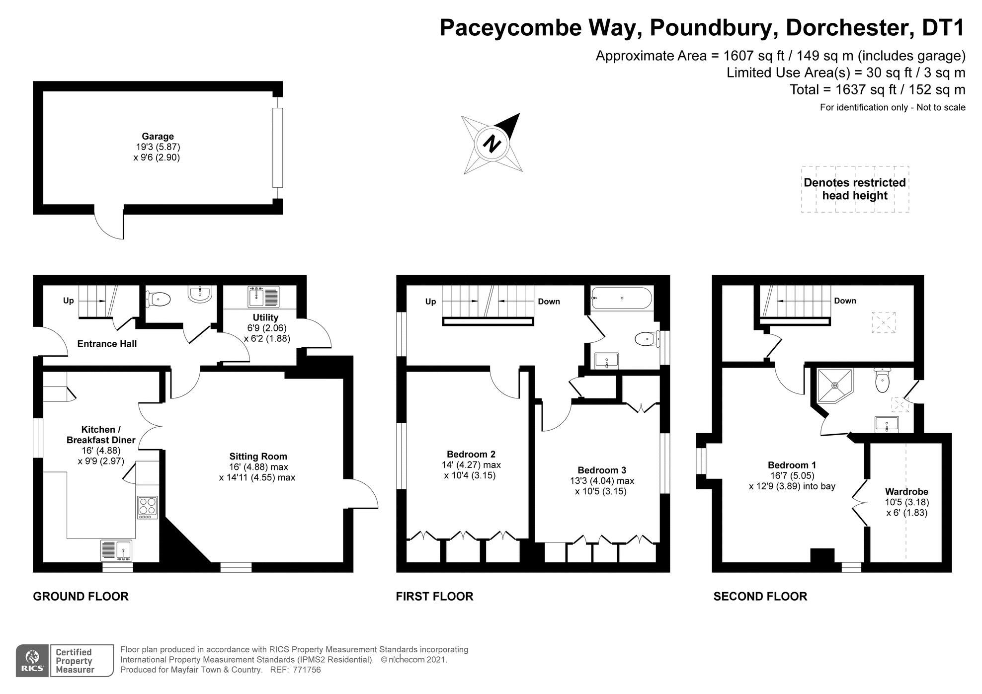 Paceycombe Way Poundbury