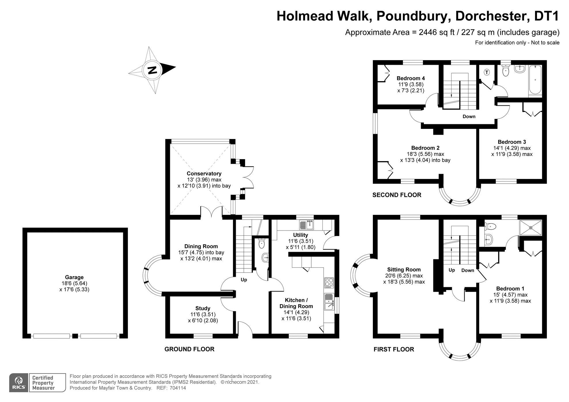 Holmead Walk Poundbury