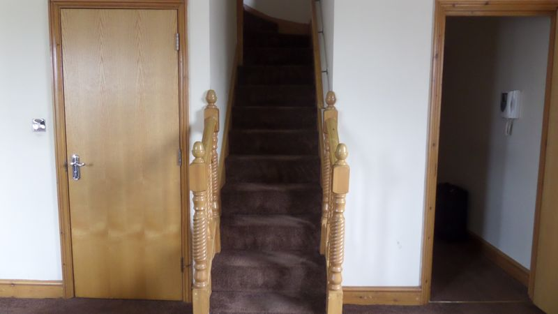 Entrance Bathroom Stairs to First Floor