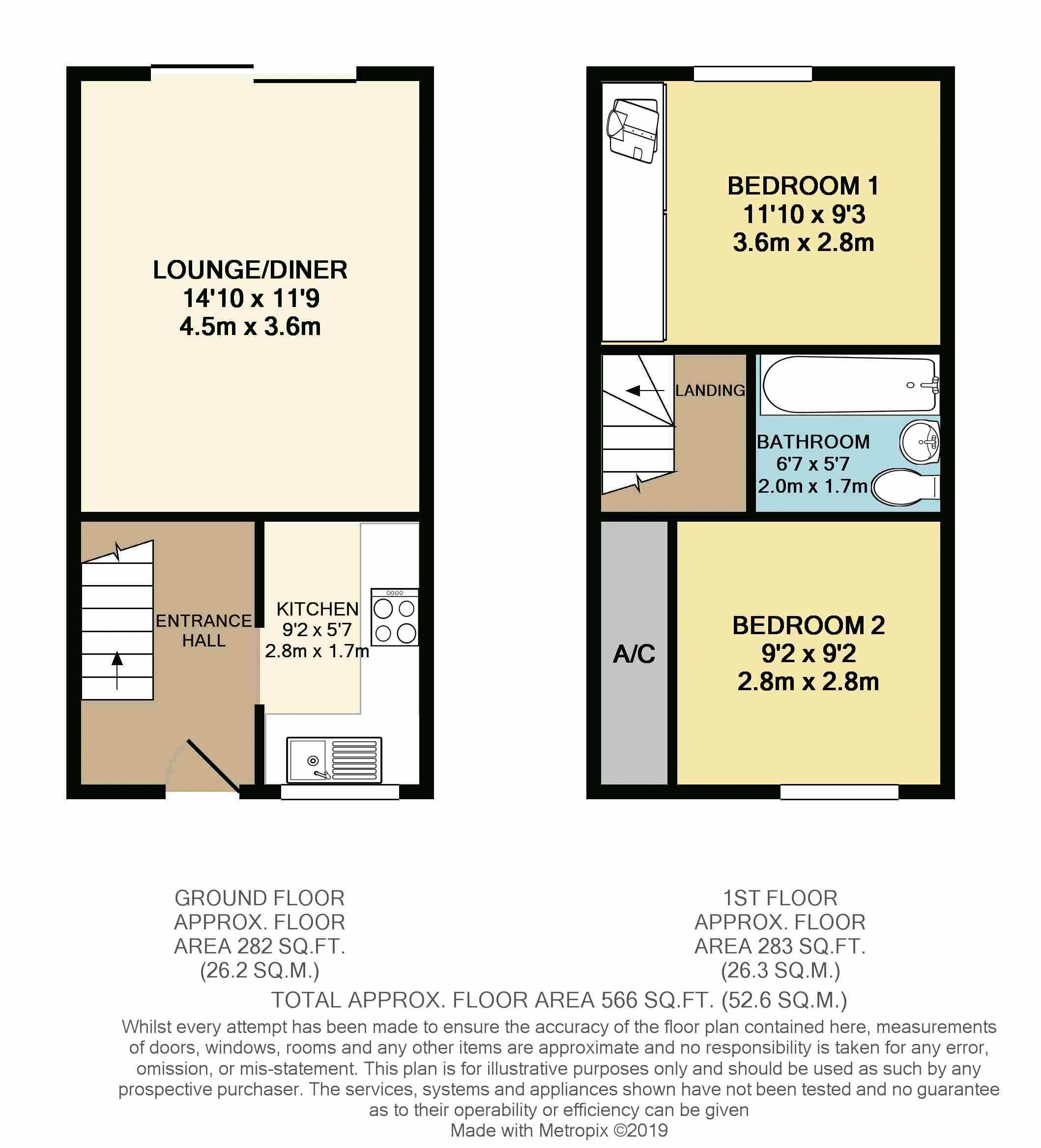 Woodpecker Way, Floorplan