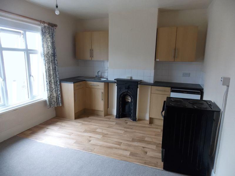 open plan living/kitchen