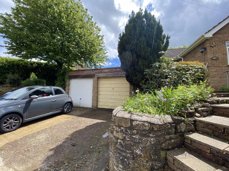 Garage and driveway