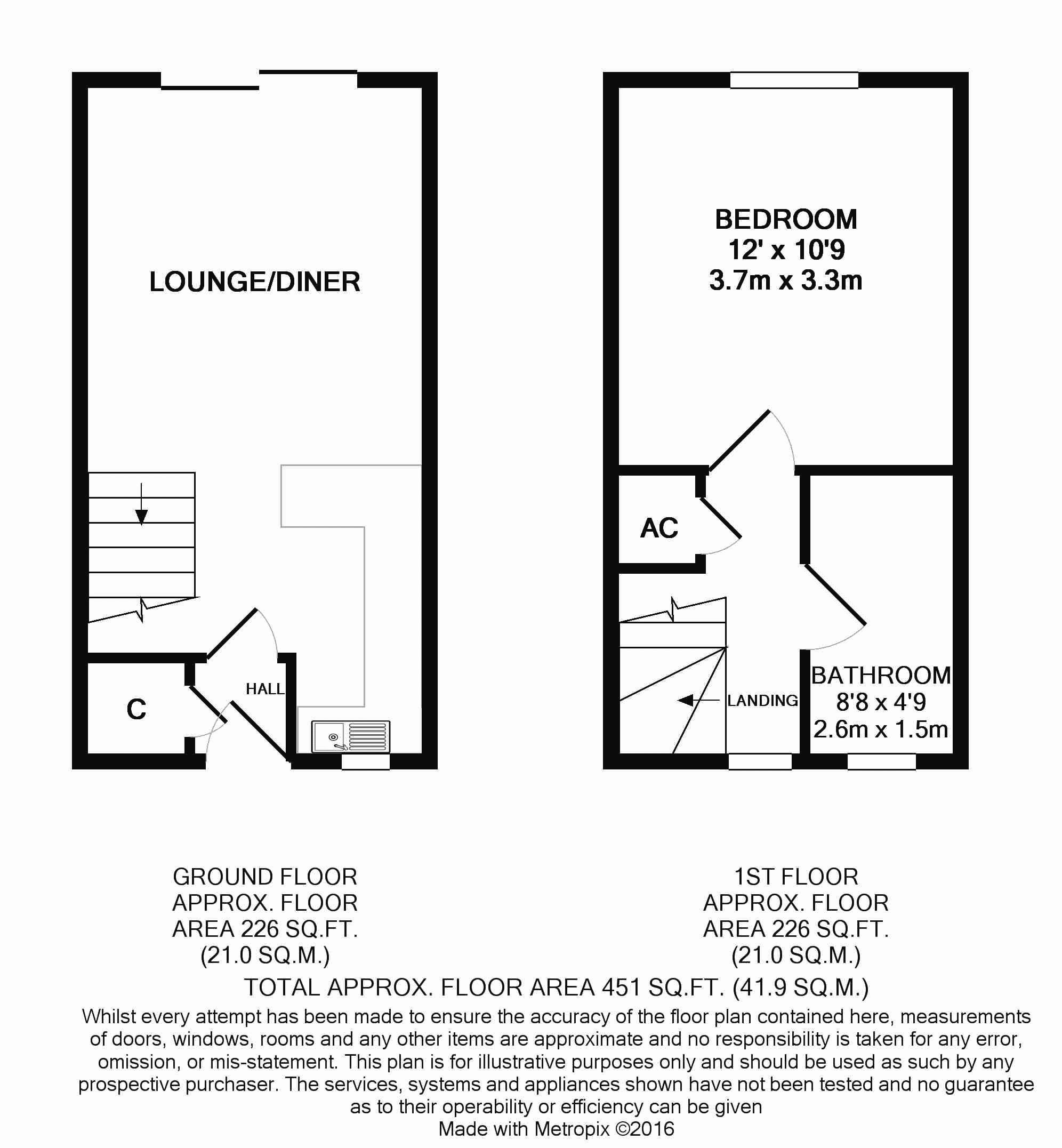 Lindisfarne Way, Floorplan