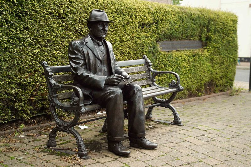 L. S. Lowry Statue