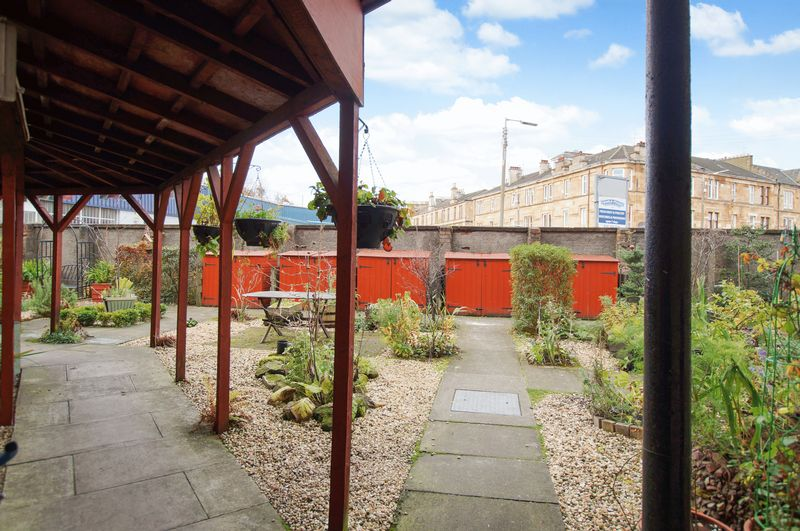 Rear Courtyard